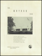 Page 5, 1949 Edition, Wayzata High School - Wayako Yearbook (Wayzata, MN) online yearbook collection