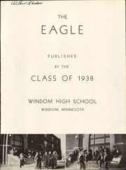 Page 3, 1938 Edition, Windom High School - Winhias Yearbook (Windom, MN) online yearbook collection