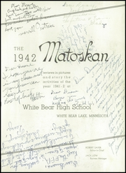 Page 7, 1942 Edition, White Bear High School - Matoskan (White Bear Lake, MN) online yearbook collection