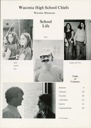 Page 5, 1973 Edition, Waconia High School - Chieftain Yearbook (Waconia, MN) online yearbook collection