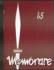 1965 Edition, St Bernards High School - Memorare Yearbook (St Paul, MN)