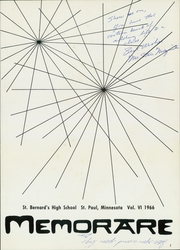 Page 5, 1966 Edition, St Bernards High School - Memorare Yearbook (St Paul, MN) online yearbook collection