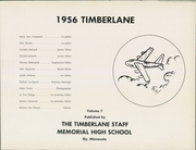 Page 5, 1956 Edition, Ely Memorial High School - Timberlane Yearbook (Ely, MN) online yearbook collection