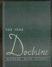Page 1, 1944 Edition, Monroe High School - Doctrine Yearbook (St Paul, MN) online yearbook collection