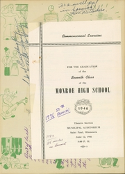 Page 3, 1946 Edition, Monroe High School - Doctrine Yearbook (St Paul, MN) online yearbook collection