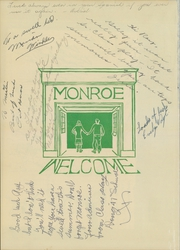 Page 4, 1946 Edition, Monroe High School - Doctrine Yearbook (St Paul, MN) online yearbook collection