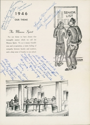 Page 7, 1946 Edition, Monroe High School - Doctrine Yearbook (St Paul, MN) online yearbook collection