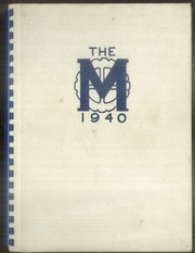Page 1, 1940 Edition, Mechanic Arts High School - M Yearbook (St Paul, MN) online yearbook collection