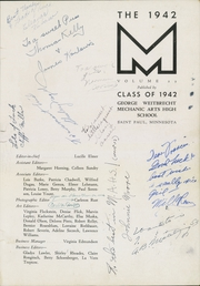 Page 5, 1942 Edition, Mechanic Arts High School - M Yearbook (St Paul, MN) online yearbook collection