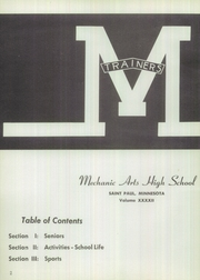 Page 6, 1955 Edition, Mechanic Arts High School - M Yearbook (St Paul, MN) online yearbook collection