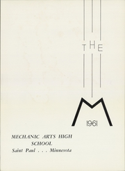 Page 5, 1961 Edition, Mechanic Arts High School - M Yearbook (St Paul, MN) online yearbook collection