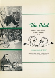 Page 5, 1954 Edition, Murray High School - Pilot Yearbook (St Paul, MN) online yearbook collection