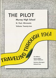 Page 5, 1961 Edition, Murray High School - Pilot Yearbook (St Paul, MN) online yearbook collection