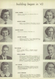 Page 14, 1955 Edition, Redwood Falls High School - Cardinal Yearbook (Redwood Falls, MN) online yearbook collection