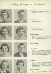Page 16, 1955 Edition, Redwood Falls High School - Cardinal Yearbook (Redwood Falls, MN) online yearbook collection