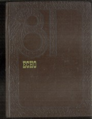 1981 Edition, Braham High School - Echo Yearbook (Braham, MN)