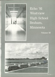Page 5, 1981 Edition, Braham High School - Echo Yearbook (Braham, MN) online yearbook collection