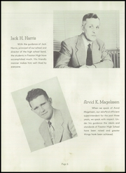 Page 12, 1949 Edition, Fosston High School - Talisman Yearbook (Fosston, MN) online yearbook collection