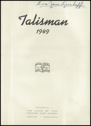 Page 5, 1949 Edition, Fosston High School - Talisman Yearbook (Fosston, MN) online yearbook collection