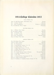 Page 10, 1915 Edition, Bethany College - Bethanian Yearbook (Bethany, WV) online yearbook collection