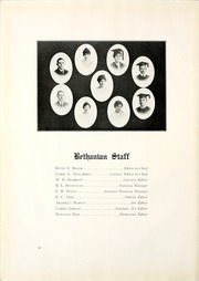 Page 14, 1915 Edition, Bethany College - Bethanian Yearbook (Bethany, WV) online yearbook collection