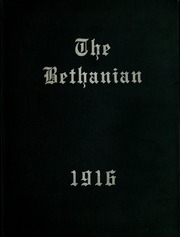 Page 1, 1916 Edition, Bethany College - Bethanian Yearbook (Bethany, WV) online yearbook collection
