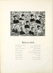 Page 14, 1916 Edition, Bethany College - Bethanian Yearbook (Bethany, WV) online yearbook collection