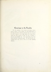 Page 15, 1916 Edition, Bethany College - Bethanian Yearbook (Bethany, WV) online yearbook collection
