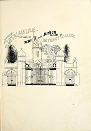 Page 7, 1916 Edition, Bethany College - Bethanian Yearbook (Bethany, WV) online yearbook collection