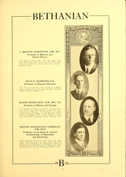 Page 13, 1918 Edition, Bethany College - Bethanian Yearbook (Bethany, WV) online yearbook collection