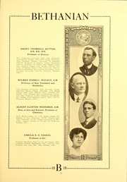Page 17, 1918 Edition, Bethany College - Bethanian Yearbook (Bethany, WV) online yearbook collection