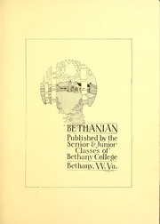 Page 7, 1918 Edition, Bethany College - Bethanian Yearbook (Bethany, WV) online yearbook collection