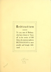 Page 9, 1918 Edition, Bethany College - Bethanian Yearbook (Bethany, WV) online yearbook collection