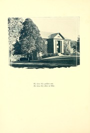 Page 16, 1923 Edition, Bethany College - Bethanian Yearbook (Bethany, WV) online yearbook collection