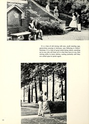 Page 14, 1957 Edition, Bethany College - Bethanian Yearbook (Bethany, WV) online yearbook collection