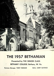 Page 5, 1957 Edition, Bethany College - Bethanian Yearbook (Bethany, WV) online yearbook collection