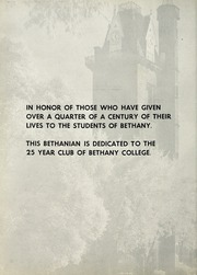 Page 6, 1957 Edition, Bethany College - Bethanian Yearbook (Bethany, WV) online yearbook collection