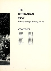 Page 9, 1957 Edition, Bethany College - Bethanian Yearbook (Bethany, WV) online yearbook collection