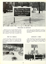 Page 14, 1961 Edition, Bethany College - Bethanian Yearbook (Bethany, WV) online yearbook collection