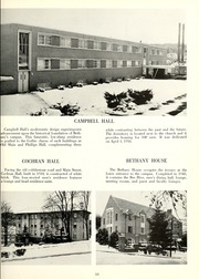Page 15, 1961 Edition, Bethany College - Bethanian Yearbook (Bethany, WV) online yearbook collection