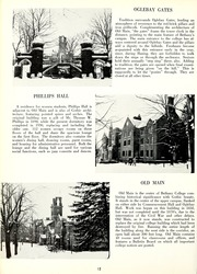 Page 16, 1961 Edition, Bethany College - Bethanian Yearbook (Bethany, WV) online yearbook collection