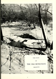 Page 5, 1961 Edition, Bethany College - Bethanian Yearbook (Bethany, WV) online yearbook collection
