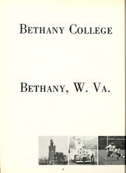 Page 6, 1961 Edition, Bethany College - Bethanian Yearbook (Bethany, WV) online yearbook collection