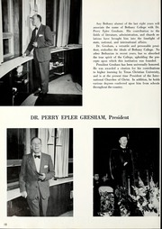 Page 14, 1962 Edition, Bethany College - Bethanian Yearbook (Bethany, WV) online yearbook collection