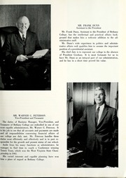 Page 15, 1962 Edition, Bethany College - Bethanian Yearbook (Bethany, WV) online yearbook collection