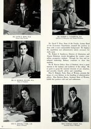 Page 16, 1962 Edition, Bethany College - Bethanian Yearbook (Bethany, WV) online yearbook collection