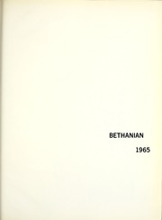 Page 5, 1965 Edition, Bethany College - Bethanian Yearbook (Bethany, WV) online yearbook collection