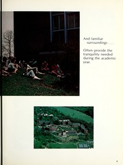 Page 13, 1970 Edition, Bethany College - Bethanian Yearbook (Bethany, WV) online yearbook collection