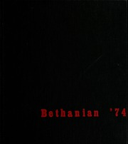 1974 Edition, Bethany College - Bethanian Yearbook (Bethany, WV)
