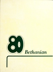 1980 Edition, Bethany College - Bethanian Yearbook (Bethany, WV)